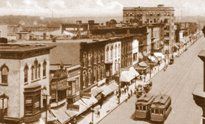 South Broadway in AuroraEarly 1900s
