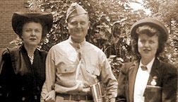 Evelyn, John & Barbara Engelbracht