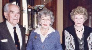 John and Josephine Hancock & Margaret Bennigsen