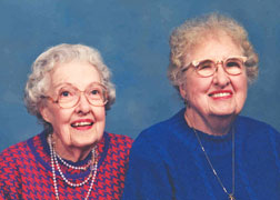 Margaret E. Lane & Louise G. Lane