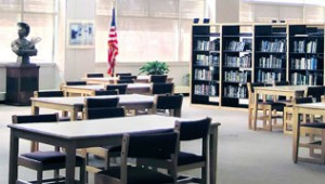 West Aurora High School Library