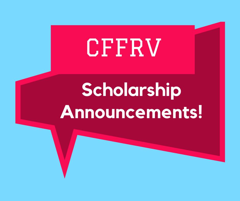 2017 Scholarship Awards - Community Foundation of the Fox