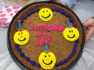 Congratulations Jeff