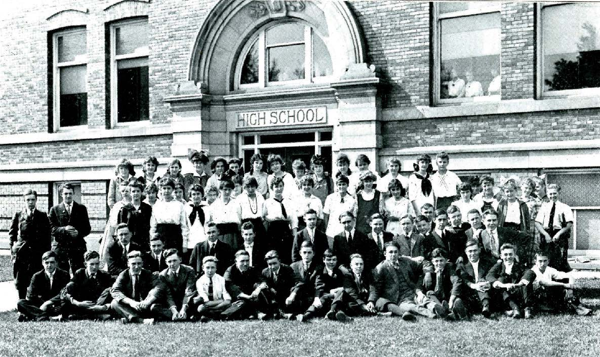 Photographic Remembrance of the West Aurora School